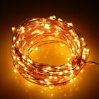 String Battery Operated Copper String Wire Fairy Lights Xmas Party 20/50/100 LED