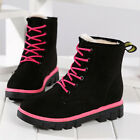 Fashion Winter Women Warm Ankle Snow Boots Fur Ski Outdoor Martin Work Shoes New