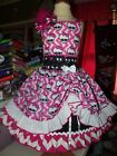 Monster Higt Doll Dress and Bow  Size 5t