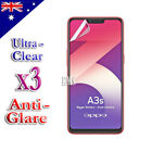 3X Ultra Clear & Anti-Glare Matte Screen Protector For Oppo A3S AX5 AX5S AX7