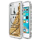 For iPhone 5 5s SE Case | NageBee® Liquid Glitter Bling Cute Protective Cover