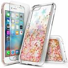 For iPhone 5 5s SE | Liquid Glitter Bling Phone Cover Case w/ Screen Protector