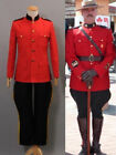 Due South Royal Canadian Mountie Red Uniform Costume Cosplay Halloween DD.1058