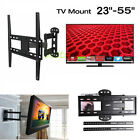 "UNHO Full Motion Solid Articulating TV Wall Mount for 23-55"" LED LCD Plasma TV"