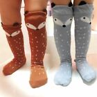 Kids Non-Slip Floor Socks Cotton Knee Girls 0-6 years Cartoon