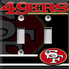 Football San Francisco 49ers Black Themed  Light Switch Cover Choose Your Cover on eBay