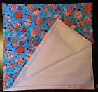 """Flannel Reversible Baby Blanket 29"""" by 29"""""""