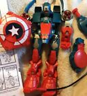 Marvel 2005 Toybiz Mega Morphs Captain America Assault Bots Figure