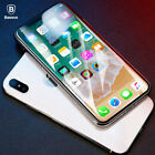 For iPhone XS Max XR BASEUS 4D Curved Full Cover Tempered Glass Screen Protector