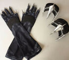 USA Avengers 4: Endgame Black Panther Claw Glove Paws Forearm Halloween Props