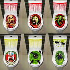 Halloween Bathroom Toilet Seat Grabber Cover Sticker Scary Horror Party Decor