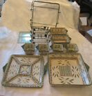 Temp-tation Old World Green Oven to Table 13 Piece Set