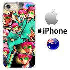 Case Cover Silicone The Disastrous Life of Saiki K netlix cool anime Pink