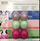 """EOS Lip Balm 6 Pack Visibly Soft & Organic Brand New """"FREE SHIPPING"""""""