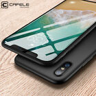 Luxury Matte Case Anti-fingerprint Ultra-thin Cover for Apple iPhone X Xs Mas Xr