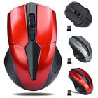 2.4GHz Optical Mouse Cordless USB Receiver For Laptop PC Computer Wireless AA