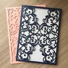 20pcs/lot Party Wedding Invitation Card Decorative Favor gift Card Delicate Flow
