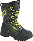 Fly Racing Snow Marker Black Hi-Viz Waterproof Insulated Snowmobile Winter Boot