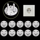 10X EU Power Socket Outlet Plug Protective Cover Baby Child Safety Protector Lot