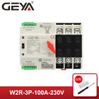 GEYA Automatic Transfer Switch 3P 100A 400V 50 60Hz Dual Power PC Level