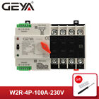 GEYA Dual Power Automatic Transfer Switch 4P 100A 400V 50 60Hz PC Level