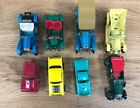D24 Lot 8 Die Cast Damged Cars Matchbox, Hotweeels