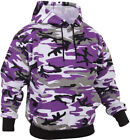 ROTHCO PURPLE CAMO ULTRA VOILET PULLOVER HOODIE MILITARY HOODED SWEATSHIRT S-3X
