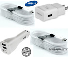 Samsung Galaxy S7 S6 S5 Note 5 4 Fast Charging Dual USB Car&Wall Charger+Cable