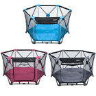 Abon Folding Portable Playpens Baby Play Yard w/ Pad  Travel Bag Indoor Outdoor