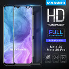 MAXSHIELD 3D Curved Tempered Glass Screen Protector For Huawei Mate 20/ 20 Pro