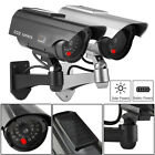 1-4x Solar Power Fake Camera CCTV Realistic Dummy Security Cam Blinking Outdoor