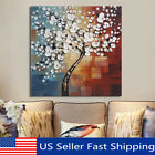 3 Size Framed Abstract Flower Tree Canvas Print Oil Painting Wall Art Home Decor