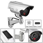 12 4X Solar Power Dummy Fake Security Camera Blinking W/ LED Night Surveillance