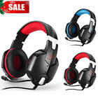 EACH G1200 Gaming Headset Stereo Surround Headphones 3.5mm Wired With Mic For PC