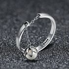 White Pearl Tears of Flowers Sterling Silver Droplet Ring Adjustable Jewellery