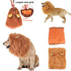 Lion Mane Wig For Dog Cat For Medium and Large Dogs Halloween Christmas Costume