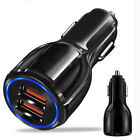 Fast Charge 3.0 Dual USB Port 3.1A Fast Car Charger Charging For iPhone Samsung