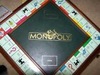 DANBURY MINT MONPOLY GAME BOARD COMPLETE EDITION VERY CLEAN WITH BOOK AND DEEDS