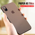 For iPhone XS / Xr XS Max X  7 7+ 8 Luxury Thin Slim Back Case Cover Protection