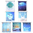Christmas Series Shower Home Shower Curtain Waterproof Bathroom Xmas Polyester