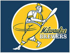 Milwaukee Brewers vinyl sticker for skateboard luggage laptop tumblers(f) on Ebay