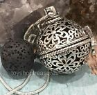 New Flower Aromatherapy Diffuser Necklace Essential Oil Lava  Leather Or Silver