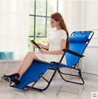 Zero Gravity Recliner Folding Chaise Lounge Patio Pool Beach Reclining Chair
