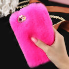 Luxury Soft Faux Plush Fuzzy Fluffy Fur Case Cover For iPhone XS Samsung Huawei