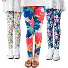 girl pants Flower printing leggings Toddler Classic 2-14Ybaby  kids