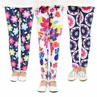 Girls Baby pants legging Childrens Flower printing Toddler Classic2-14Ybaby