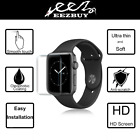 Apple Watch 44mm 40mm Soft PET Full Cover 3D Screen Protector Film For iWatch