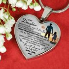 Daughter Necklace Heart - Father And Daughter Pendant Gifts From Daddy