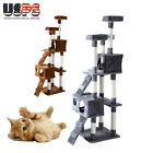 "New 67"" Cat Tree Tower Condo Furniture Scratching Post Pet Kitty Play House Toys"