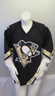 Pittsburgh Pengiuns Jersey (Retro) - Home black by Koho - Men's Medium